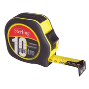 Sterling 10m Professional Magnetic Hook Tape Measure