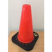 Pro Choice Traffic Cone 300mm Black Base