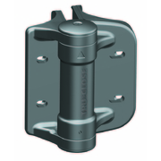 D&D Technologies TruClose Round Post Hinge Adjustable With Adaptors