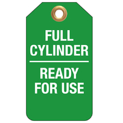 Full Cylinder Ready For Use 25pk Tear Proof Tags