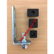 Gate Hinge Adjustable Pin Gudgeon With Nylon Inserts To Suit, 20 x 20mm, 25 x 25mm, 38 x 25mm Tube