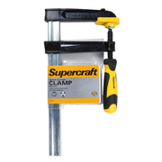 Supercraft Clamp Quick Action Heavy Duty 250 x 120mm Soft Grip