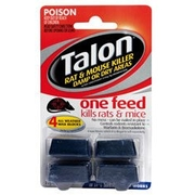 Talon Rat & Mouse Killer Damp Or Dry Areas Wax Blocks 72g