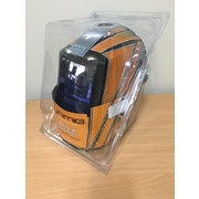Razorweld Auto Darkening Welding Helmet Digital Orange