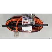 Ultracharge Contractor Heavy Duty 30m Extention Lead 15amp with 15amp Plugs