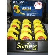 Sterling 8m x 25mm V-Force Tape Measure