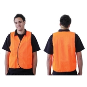Orange Day Safety Vest Large