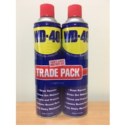 WD-40 Twin Pack Multi-Purpose Lubricant Aerosol 425g