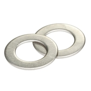 Stainless Steel 304 Flat Washer M8 x 17 x 1.2mm