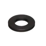 Flat Washer Round 12mm Black