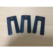 Window Packers/Shims Plastic 1.5 x 36 x 75mm Black 200pk