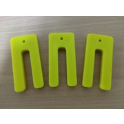 Window Packers/Shims Plastic 10 x 36 x 75mm Yellow 100pk