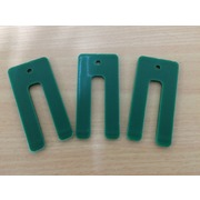Window Packers/Shims Plastic 3.2 x 36 x 75mm Green 200pk