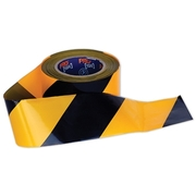 Pro Choice Yellow/Black Barricade Tape 100m x 75mm Roll