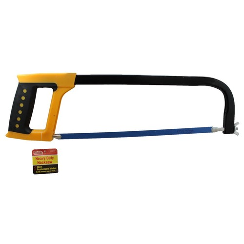 Handy Hardware 300mm Hacksaw With Blade