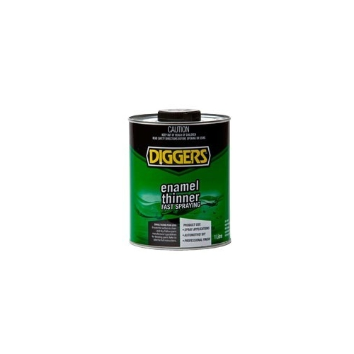 home paint solvents diggers enamel thinner 4l. Black Bedroom Furniture Sets. Home Design Ideas