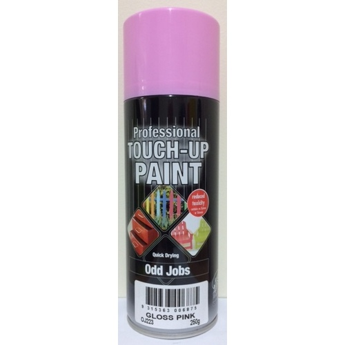 Odd Jobs Gloss Pink Enamel Spray Paint 250gm