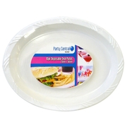 10pk Disposable Oval Plate