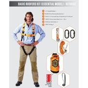 Pro Choice LINQ Basic Roofer's Harness Kit (Essential Model)